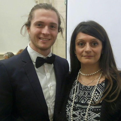 Raffaele Sollecito e Marilena Rodi